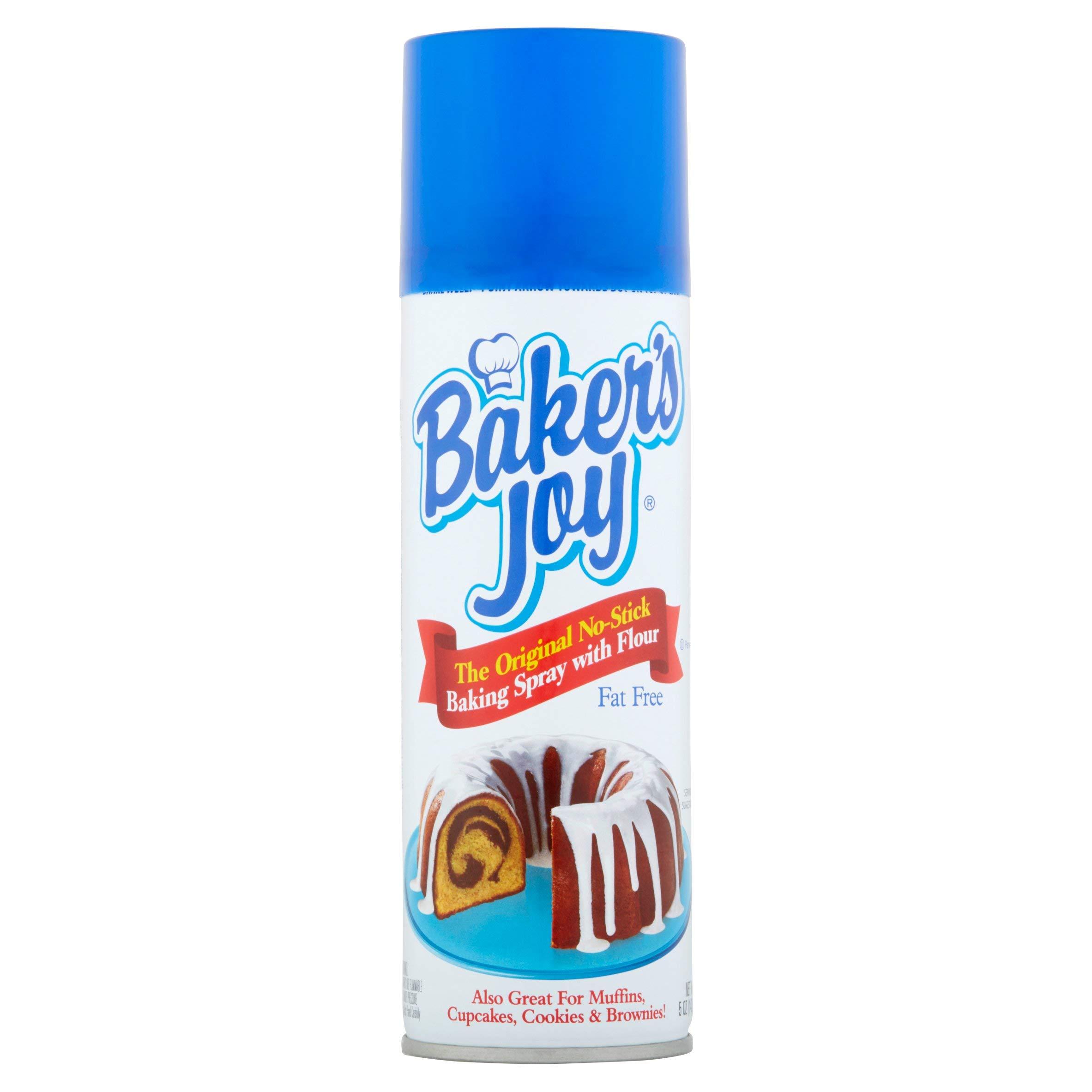 Baker's Joy The Original No-Stick Baking Spray with Flour, 5 oz (Pack of 3) by Baker's Joy