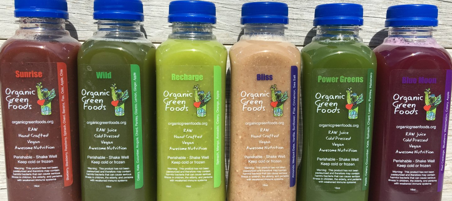 Organic Green Foods 3 Day Raw Signature Juice Cleanse - 18 Bottles by Organic Green Foods (Image #4)