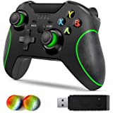 Wireless Controller for Xbox One, Byforphye Wireless Controller Xbox One, 2.4GHZ Gamepad Joystick with Dual Vibration with Re