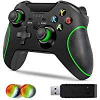 Wireless Controller for Xbox One, Byforphye Wireless Controller Xbox One, 2.4GHZ Gamepad Joystick with Dual Vibration…