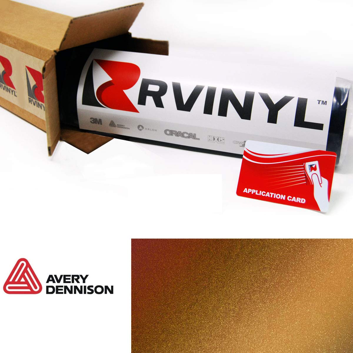 12 x 60 w//Application Card C-Avery-SW900-251-S Avery SW900 251-S ColorFlow Satin Fresh Spring Supreme Wrapping Film Vinyl Vehicle Car Wrap Sheet Roll