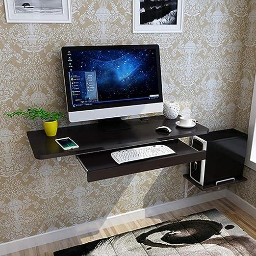 Bseack Mesa Escritorio Simple para computadora, para Colgar en la ...