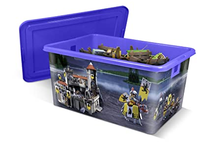 Playmobil Caja de plástico 35L Caballeros