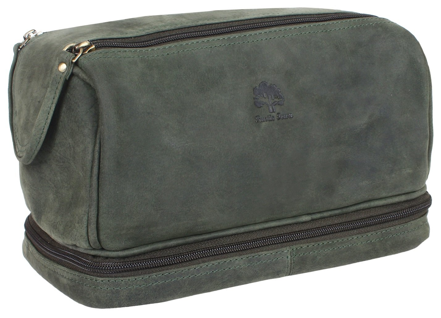 Leather Toiletry Bag Men Women Travel Shaving Bag Travel Bag Organizer Dopp  Kit  Amazon.co.uk  Clothing a5da3ebd1b81e