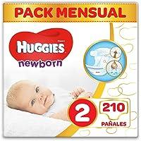 Huggies Newborn Pañales Recién Nacido Talla 2 (3-6