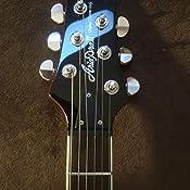 Aria PE350R - Guitarra Les Paul, color rojo: Amazon.es: Instrumentos ...