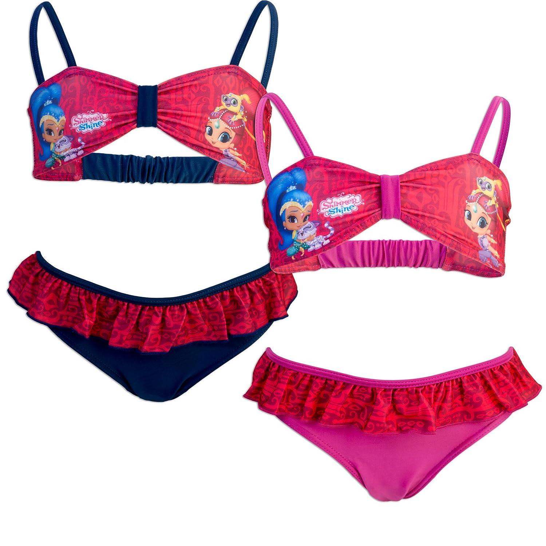 Shimmer And Shine Bikini Traje de ba/ño de 2 Piezas 985-019 para ni/ña