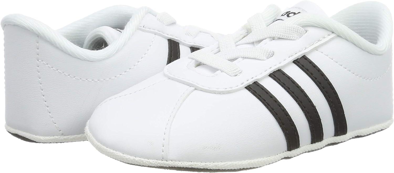 adidas VL Court 2.0 Crib Zapatillas de Estar por casa Unisex beb/é