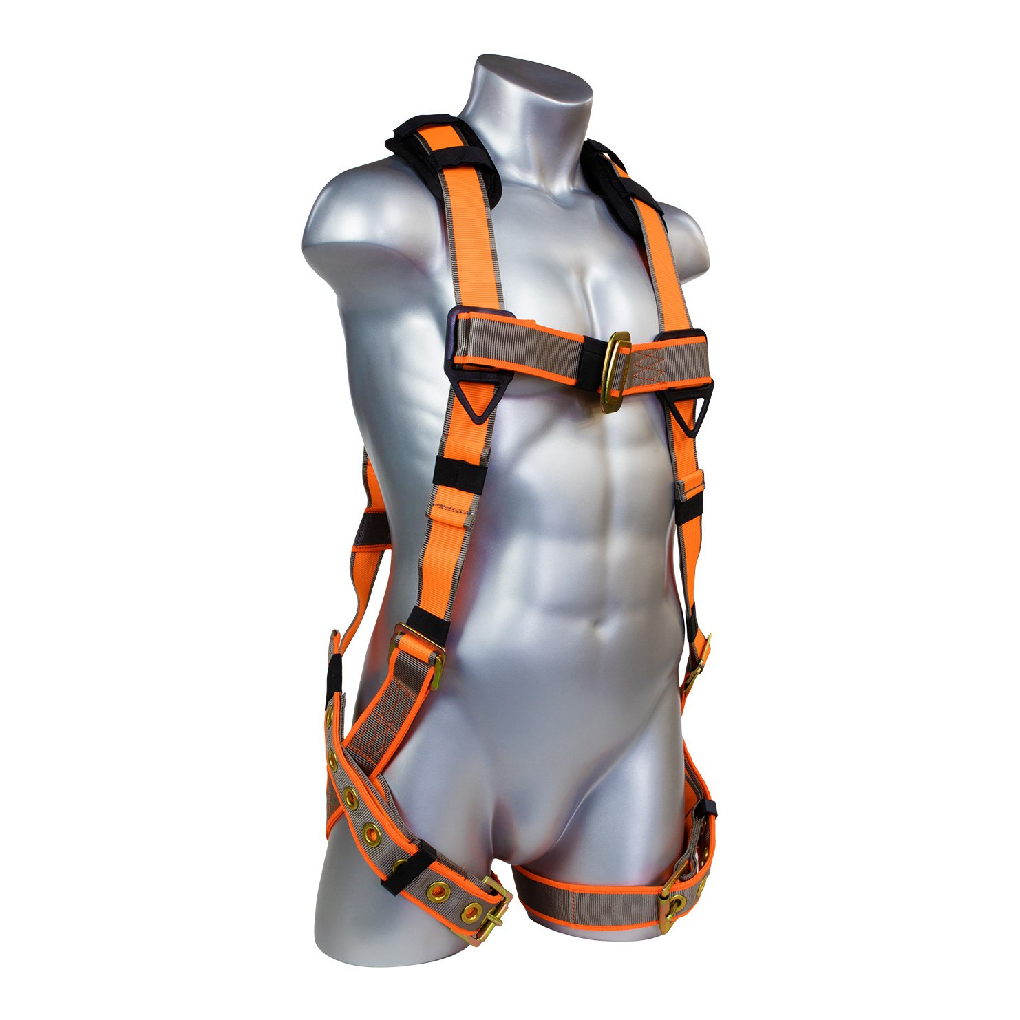 Warthog 5 – Point Full Body Harness with Tongue Buckle Legs (XXXL)