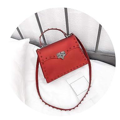 821b866da Crossbody Bags Pvc Single Casual Women Candy Cover Soft Flap Pocket Bolsa  Feminina Sac,Red