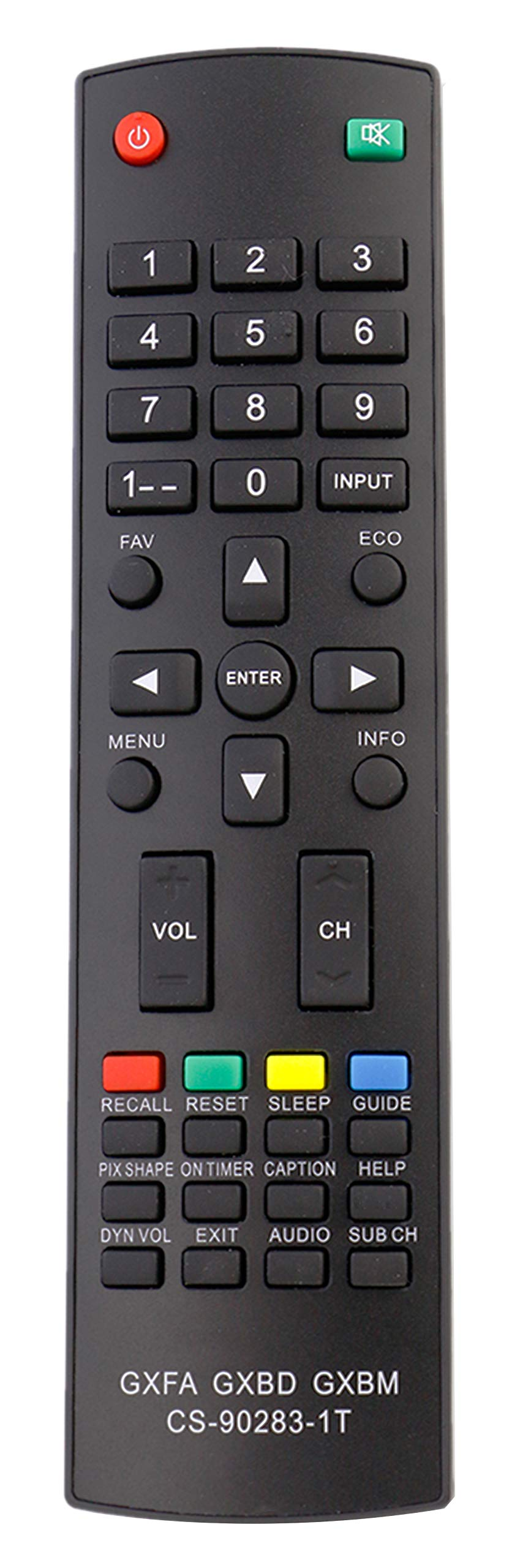Control Remoto VINABTY GXFA GXBD GXBM CS 90283 1T Sanyo T...