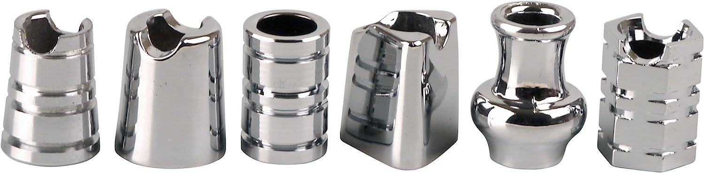2 pitilleras Black Lady para 14 Cigarrillos Largos 100 mm con Cinta de Goma y 2 Pastillas Killer cromadas
