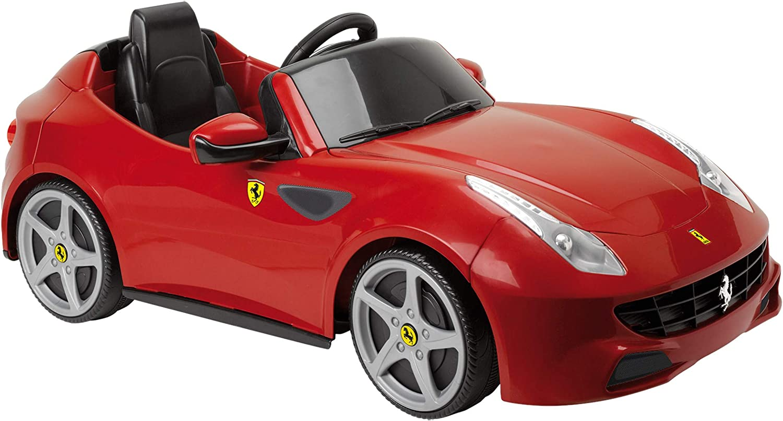 Feber Famosa 800007680 Ferrari Elektrischer Spielzeugsportwagen Für Kinder Von 3 Bis 6 Jahren 6v Rot Amazon De Spielzeug