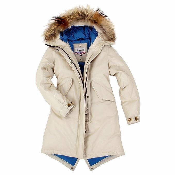 Blauer USA Chaqueta de invierno de plumón para mujer ...