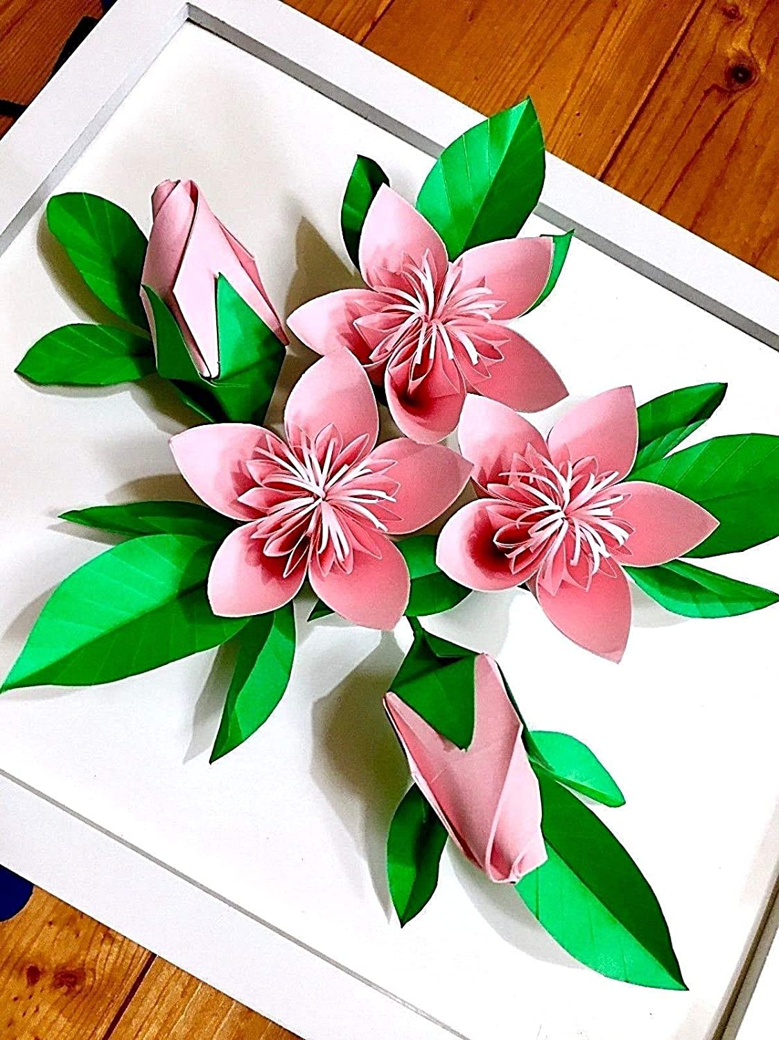 How To Make Origami Cherry Blossom - Easy Origami - Origami ...   1500x1124