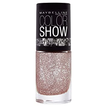771ace99114 Maybelline Color Show Crystal 232 Rose Chic Nail Polish 7ml  Amazon ...