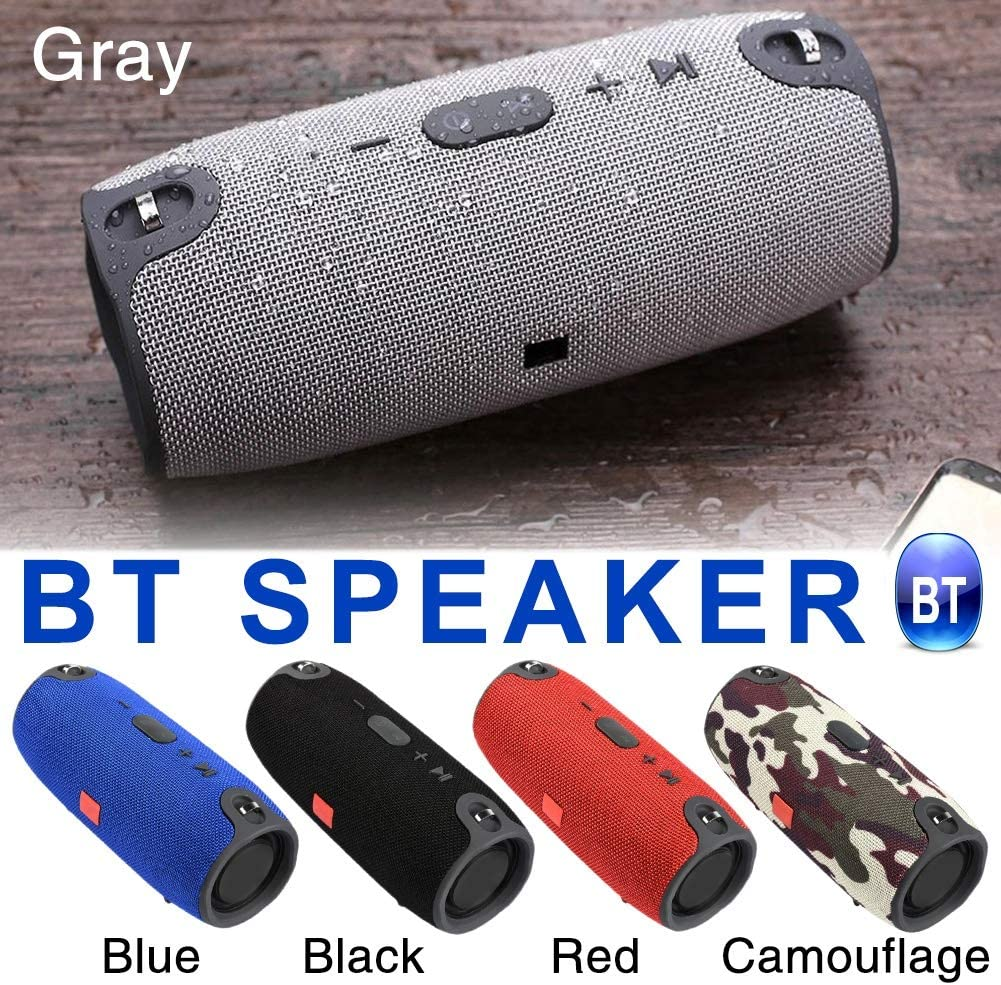 Color : Red HONGYAN 40W Bluetooth Speaker Column Wireless Portable Sound Box Bass Stereo Subwoofer USB TF Card 3.5MM AUX USB 2.0 Sound Bar Durable