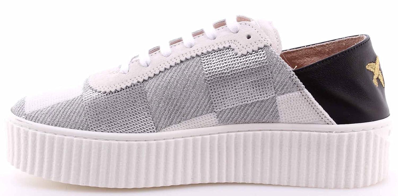 Women s Shoes Sneakers PINKO Shine Baby Ungherse Paillettes Bianco Argento  White  Amazon.co.uk  Shoes   Bags 72dda7448e1