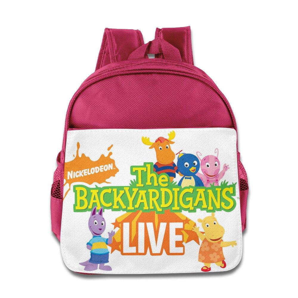 The Backyardigans Live Kidsスクールバックパックバッグ One Size ピンク B01KO8T14I