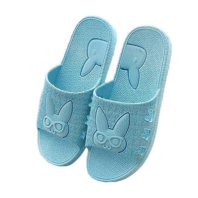 Nanxson Unisex PVC Antiskid Cartoon Bunny Bath Slipper TX0002: Clothing