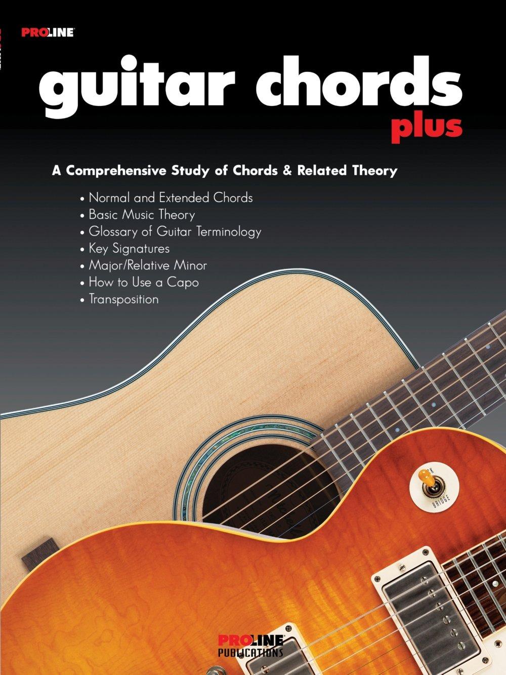 Proline Guitar Chords Plus Book Proline 0073999395846 Amazon