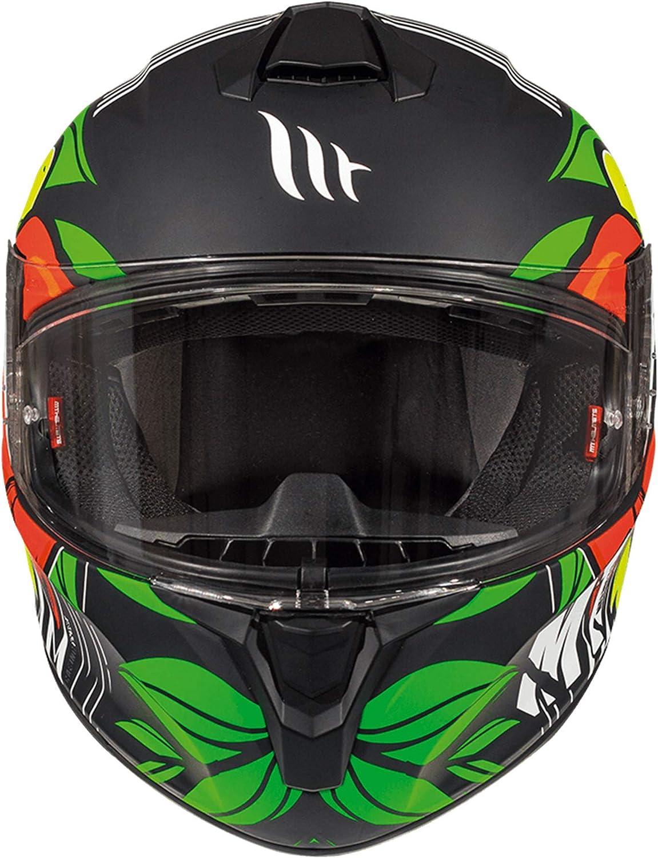 MT TARGO TRUCK A2 Matte Yellow Helmet XL