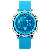 Kid Watch Multi Function 50M Waterproof Sport LED Alarm Stopwatch Digital Child Wristwatch for Boy Girl