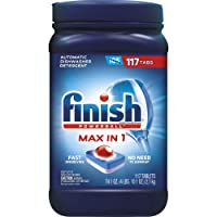 Deals on 117-CT Finish Powerball Max-in-1 Dishwasher Detergent 74.1oz