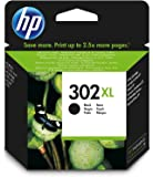 CARTUCCIA HP 302XL Black ORIGINALE PER HP 3830 3832 4650 1110 2130 3630 4520 F6U67A CAPACITA' 330 PAGINE