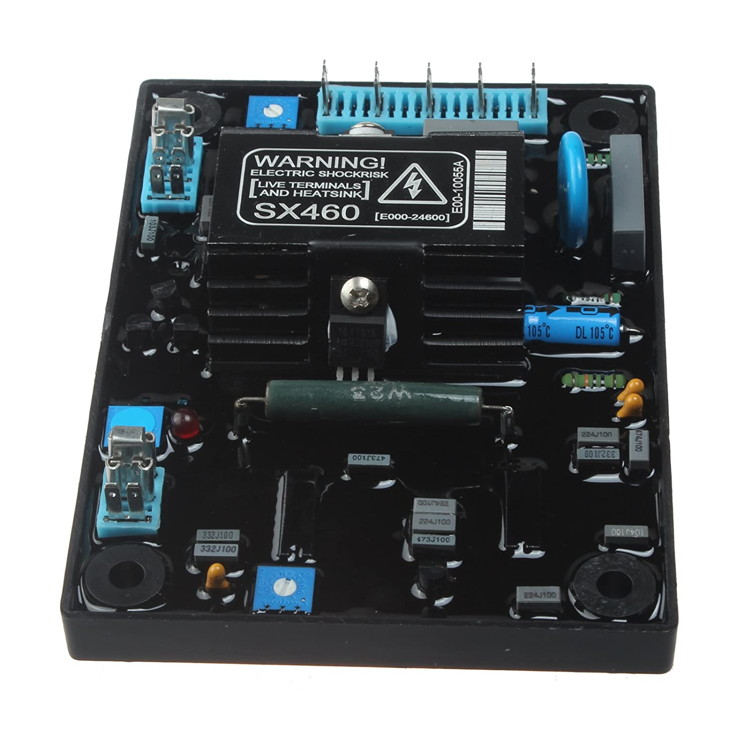 Friday Part Automatic Voltage Regulator SX460 AVR Control Moudle for Generator Genset With 1 Year Warranty
