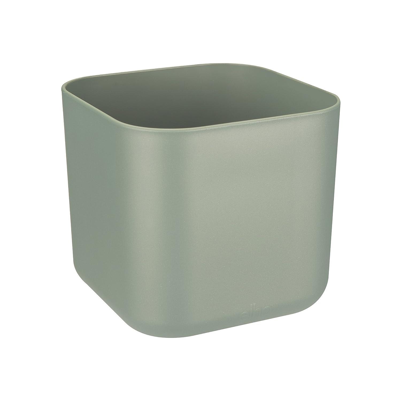 Elho b.for soft square 14cm flowerpot - white 4141201415000