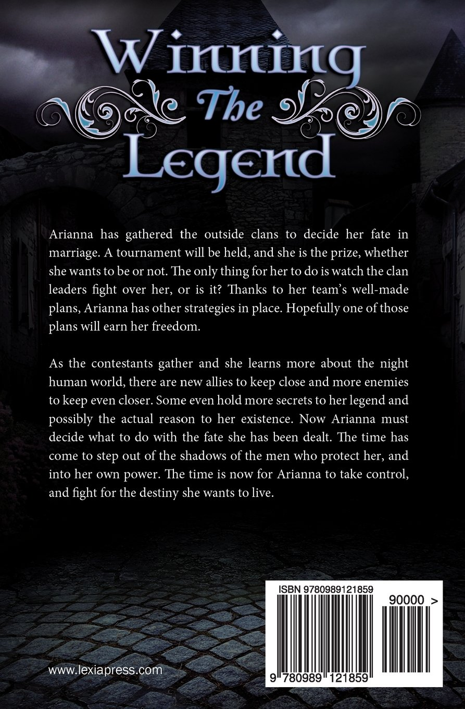 Amazon: Winning The Legend (the Blue Eyes Trilogy) (volume 3)  (9780989121859): B Kristin Mcmichael: Books