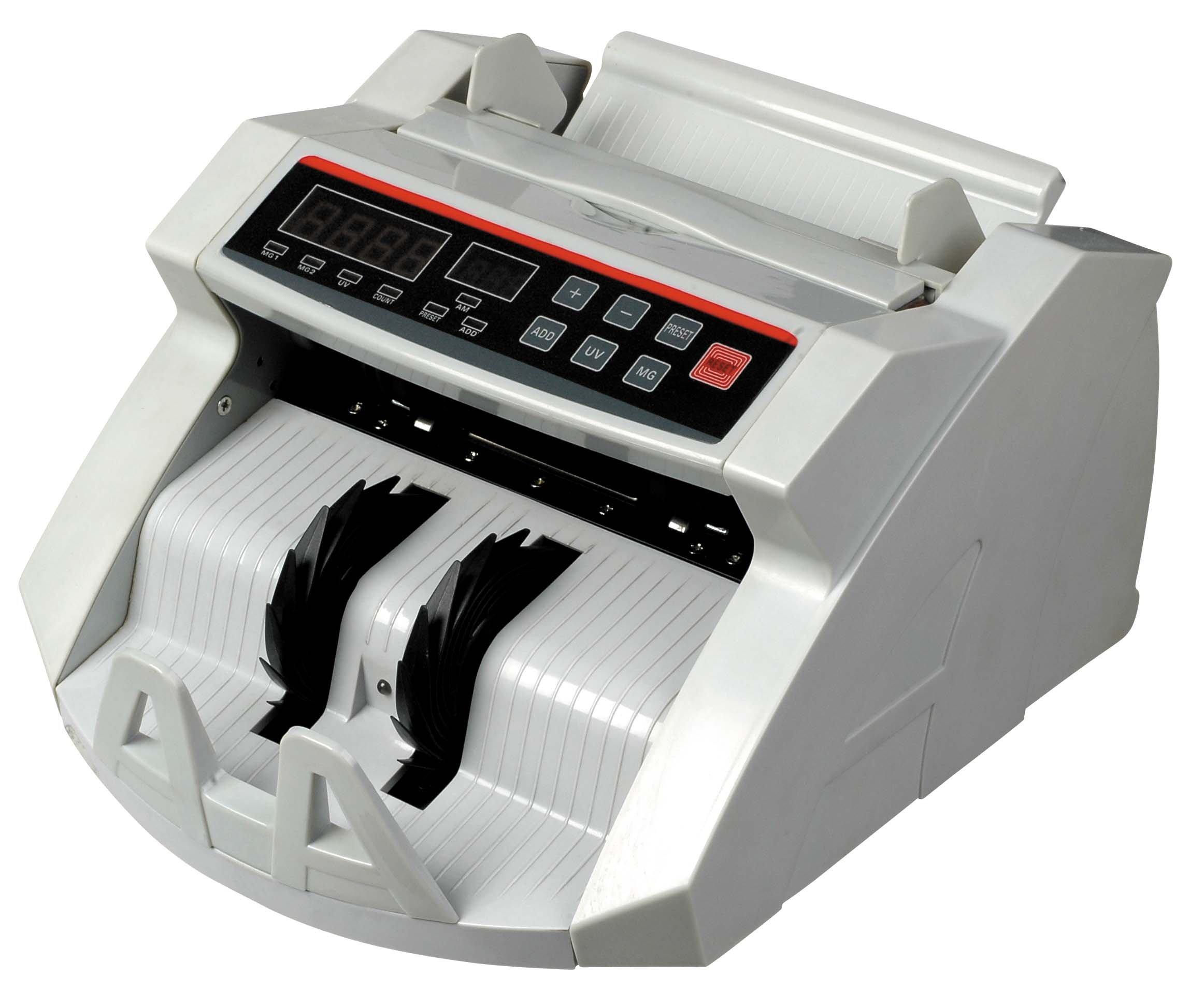 Winixson New Money Bill Counter Counting Machine Counterfeit Detector UV & MG Cash Bank