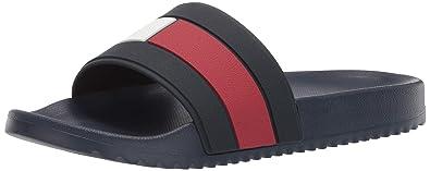 4d393e18ca7c Amazon.com  Tommy Hilfiger Men s Ranch Slide Sandal  Shoes