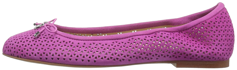 Sam Edelman Women's Felicia 2 Ballet Flat B01J6KN1UU 9 M US|Hot Pink Suede