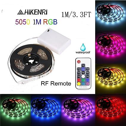 Amazon 5050 1m33ft ip65 waterproof flexible color changing 5050 1m33ft ip65 waterproof flexible color changing rgb led light strip 30 leds aloadofball Choice Image