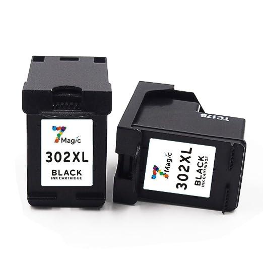 5 opinioni per 7Magic Remanufactured Cartuccia d'inchiostro HP 302 XL ( 2 nero ) ad Alta