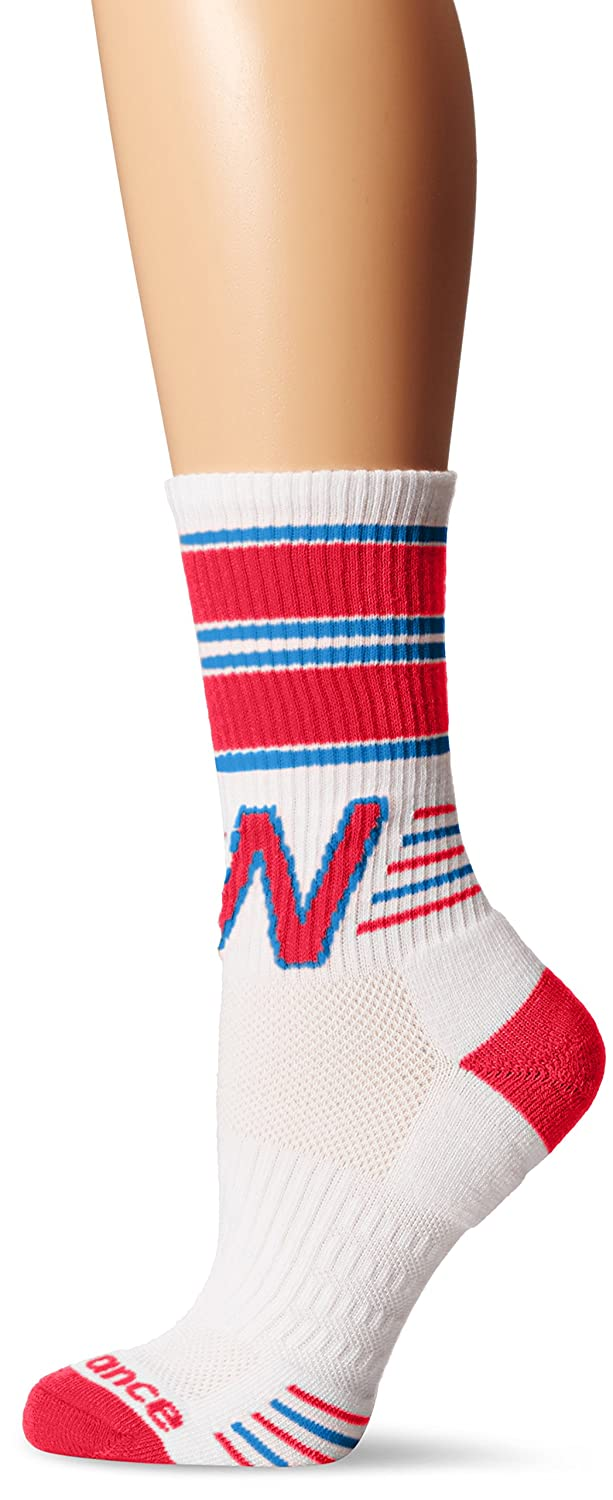 d7c862b8724b2 New Balance Women's 1 Pack Lifestyle Retro Crew Socks
