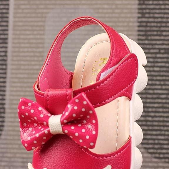 0d5b0e812 Wawer Sandalias de Vestir de Caucho Para Niña  Amazon.es  Zapatos y  complementos