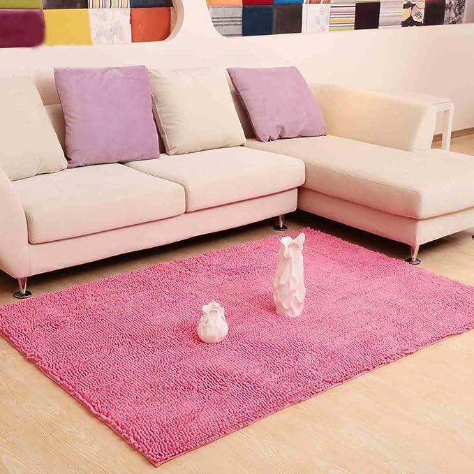 Amazon.com: Rug Living room coffee table sofa soundproof bedroom ...