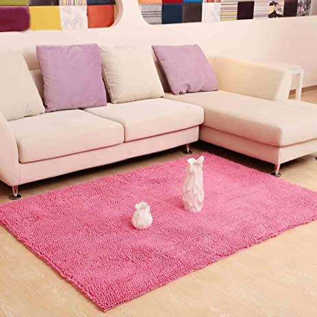 Amazon.com: Rug Living room coffee table sofa soundproof bedroom ...