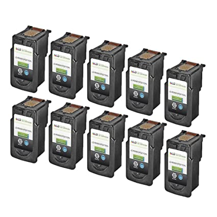 DS 10 Pack PG210XL PG 210 XL High Yield Black Reman Ink Cartridge For Canon