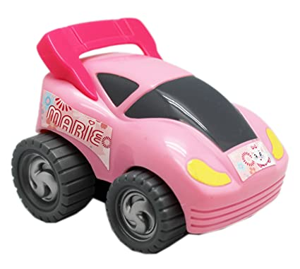 Disneys The Aristocats Marie Cat Friction Powered Kids Turbo Car: Pink