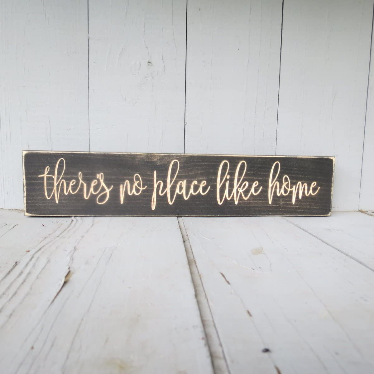 There's no Place Like Home Sign, There's no Place, no Place Like Home, Like Home, Home Decor, Home Sign, Wood Sign, Home, Housewarming