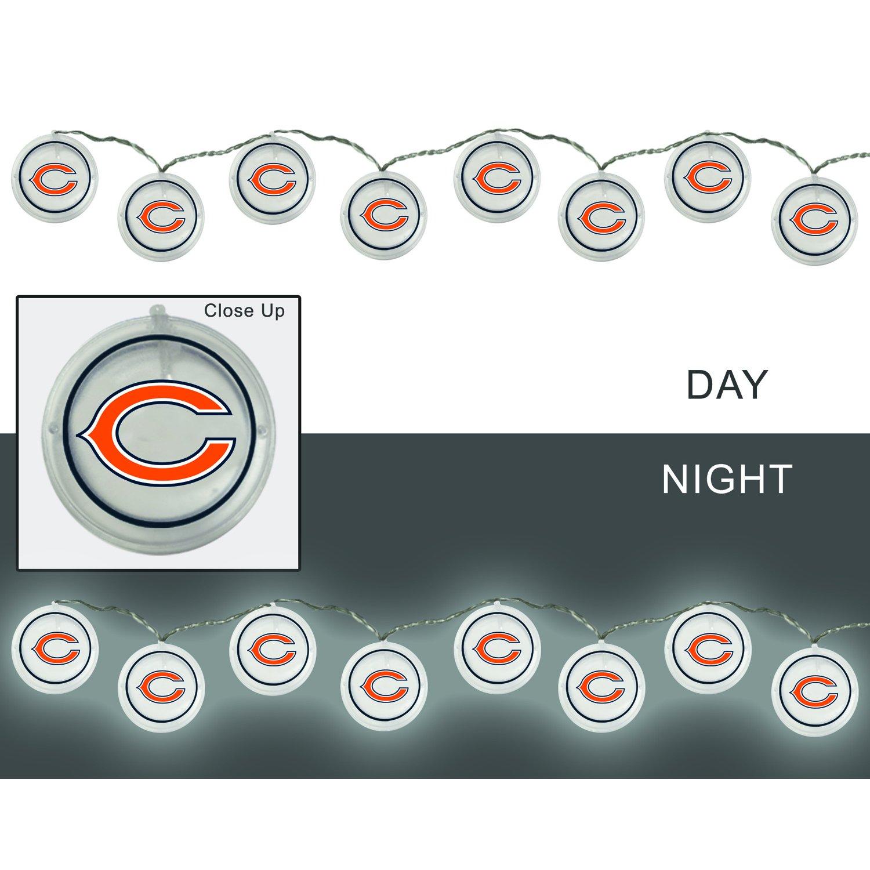 Team Sports America 2LA3805SL Chicago Bears String Lights