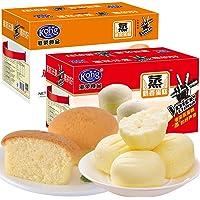 Kong WENG 港荣 蒸蛋糕 900g*2 奶香味 芝士味组合
