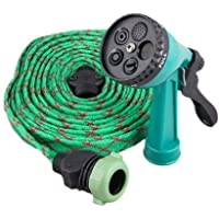 Hemiza 5 in 1 High Pressure Water Spray Hose Pipe With 5 Different Spray Modes Gun for Car Washing, Gardening and Cleaning