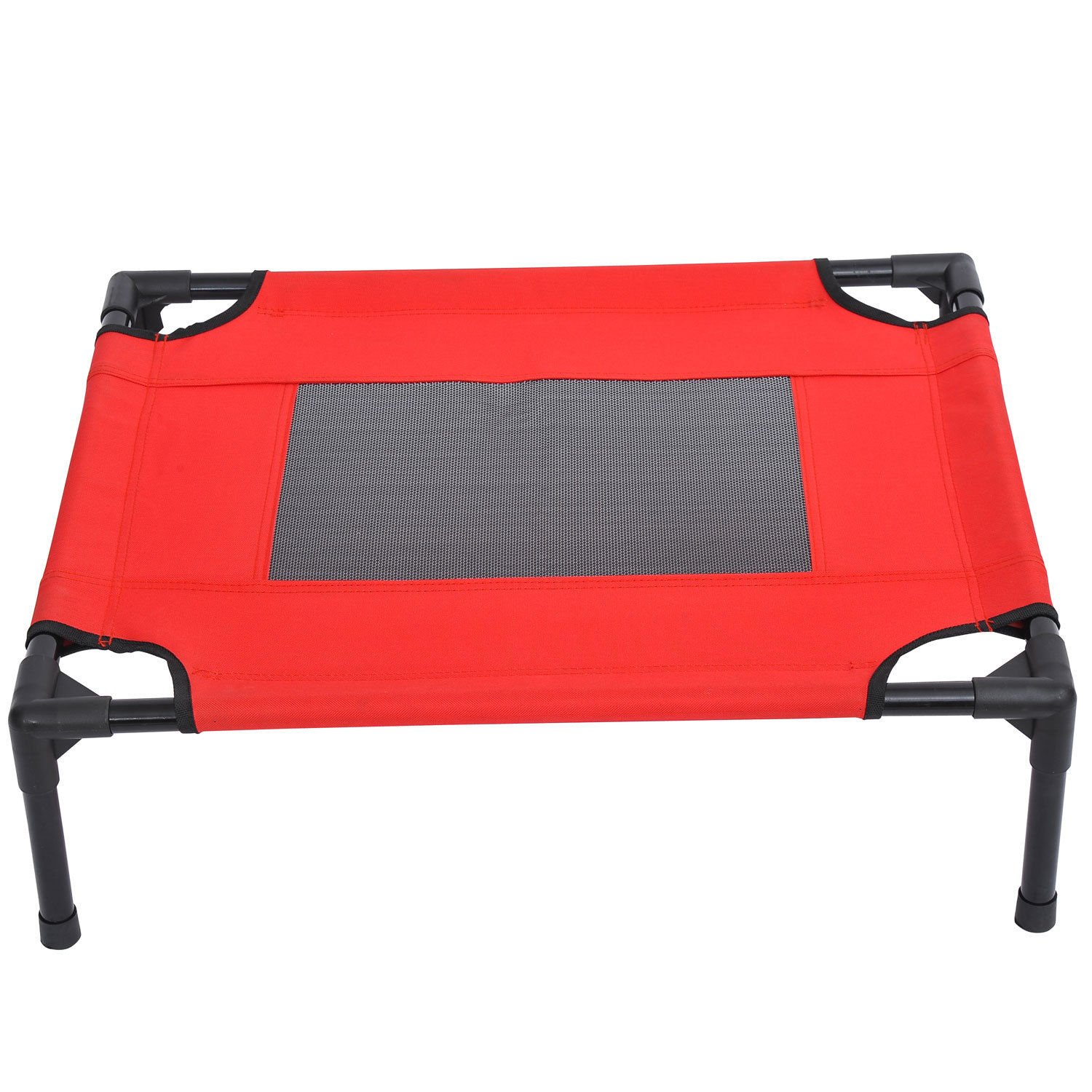 Eight24hours New Indoor/Outdoor Portable Dog Cat Sleep Bed Elevated Camping Pet Cot + FREE E-Book