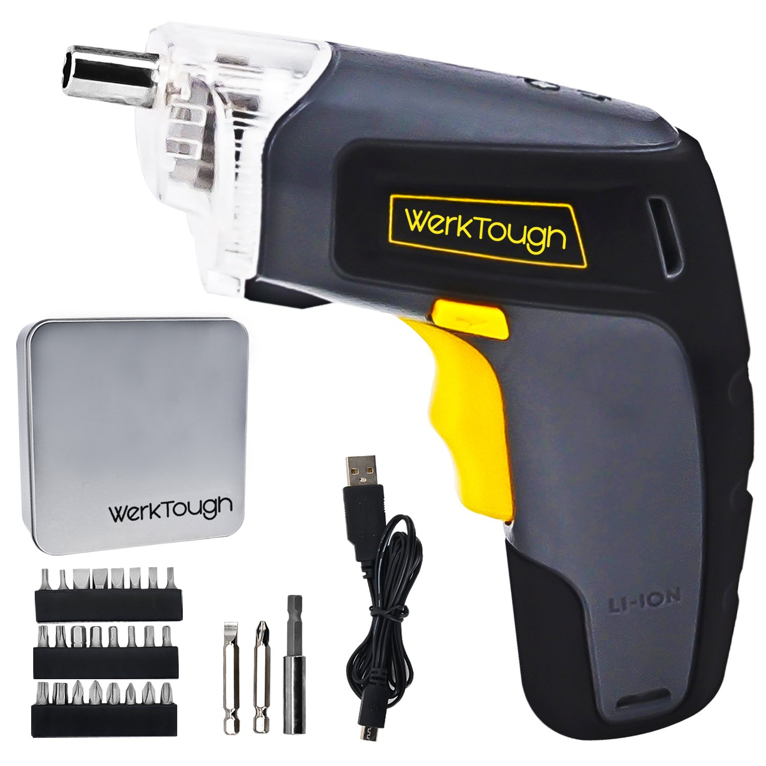 Werktough 3.6V Li-ion Battery Cordless Screwdriver S008