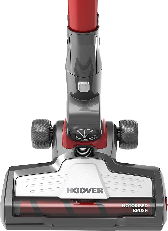 Hoover RA22SE 011 aspiratore portatile Senza sacchetto Nero Titanio Rosso